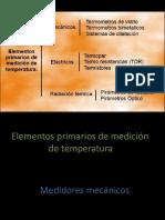 Medidores de Temperatura