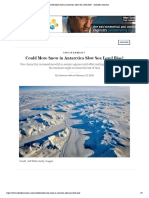 could more snow in antarctica slow sea level rise  - scientific american