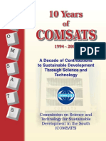 10 Years of Comsats