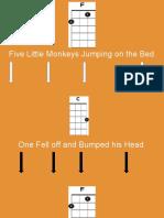 five little monkeys chords