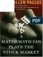 Trading Stocks - A Mathematician Plays the Stock Market - J a Paulos (Basic Books) - 2003