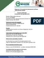 Información Para Diligenciar El Formulario Renta y Complementario 210- Persona Natrual