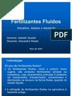 Fertilizantes Fluidos