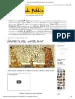 Arte Na Escola Pública_ Árvore Da Vida - Gustav Klimt