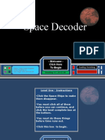 Language Unit 2 Study Guide Space Game