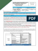 Ficha de Procesos Curriculares