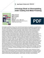 Niir Complete Technology Book on Electroplating Phosphating Powder Coating Metal Finishing