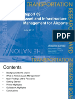 Acrp_rpt_069 Asset and Infrastructure Management for Airports