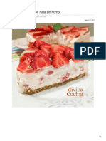Divinacocina.hola.Com-Tarta de Fresas Con Nata Sin Horno