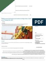 Definiciones Sistema Gestión Seguridad y Salud Trabajo (SG-SST)