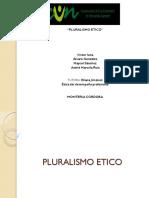 PLURALISMO ETICO