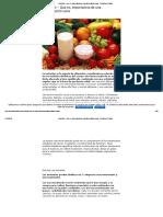 Nutrición – Que Es, Importancia de Una Alimentación Sana - Periodico de Salud