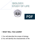 1-The Life of Biology