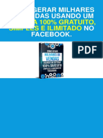 Facebook Marketing Estratégias Para Vender Pelo Facebook PDF