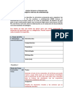 Esquema Del Guion - Planeación de OA