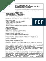 Teks Majlis Penutup Kem Kepimpinan Pengawas