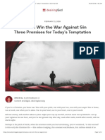You Can Win the War Against Sin