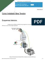 Esquemas básicos. _ Curso Instalador Baja Tensión.pdf