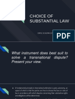 CHOICE OF SUBSTANTIAL LAW.pptx