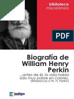 Biografia William Henry Perkin
