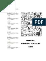 TEMARIO CCSS