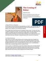 The Coming of Babur