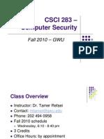 CS283 W1L1 Syllabus