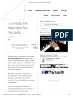 Inversão de Acordes No Teclado - ClaudioLuizMusic