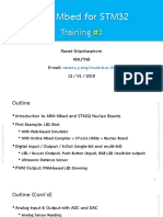 ARM Mbed for STM32 Training #1 (2018-01-12)