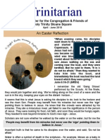 April 2010 Trinitarian Newsletter, Holy Trinity Sloane Square
