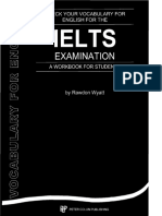 Check Your Vocabulary for the IELTS Examination