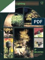 Kim Lighting Landscape Lighting Catalog 1991
