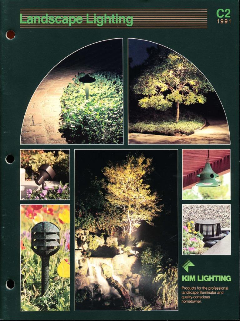 Hot ass porled Kim Lighting Landscape Lighting Catalog 1991 Pdf Building Engineering Nature