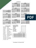 Calendario Municipal 2017