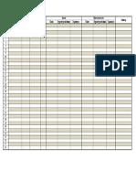 Хэрэглээний бүртгэлийн хуудас