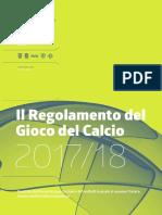2.2 Regole Di Gioco Stagione 2017 2018