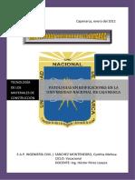 Informe 3 Patologias Del Concreto