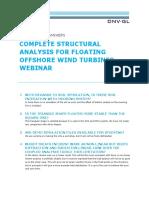 Sesam Webinar - Complete Structural Analysis for Floating OWT - QA_tcm8-105379