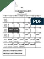 Anexo IV Cronograma 2018