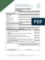 Formulario de Registro de Estudiantes-PTCA (2018)