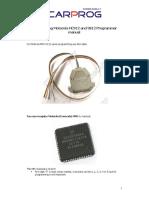 CARPROG Motorola HC12 Programmer Manual