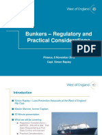 121108 Bunkers Regulatory and Practical Considerations