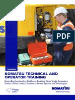 Komatsu Technical -Operator Training_V6