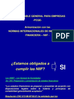 290795573 Diapositivas Nuevo Plan Contable General Para Empresas Ppt