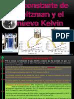 La Constante de Boltzmann y El Nuevo Kelvin