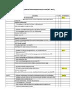 Check List Dokumen Pelayanan Kefarmasian Dan Pengelolaan Obat