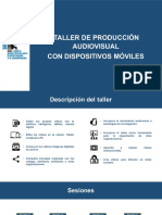 TALLER DE PRODUCCIÓN AUDIOVISUAL CON DISPOSITIVOS MÓVILES