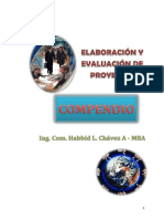 Compendio Proyectos Capítulo i
