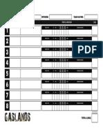 Gaslands Team Roster