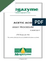 Acetic Coa